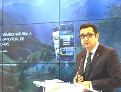 El director general de Comercio y Turismo, Julio González Zapico